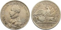 Taler 1821  A Brandenburg-Preußen Friedrich Wilhelm III. 1797-1840. seh... 80,00 EUR  zzgl. 3,50 EUR Versand