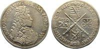 2/3 Taler 1692  IK Sachsen-Albertinische Linie Johann Georg IV. 1691-16... 100,00 EUR  zzgl. 3,50 EUR Versand