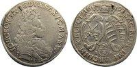 2/3 Taler 1693  IK Sachsen-Albertinische Linie Johann Georg IV. 1691-16... 140,00 EUR  zzgl. 3,50 EUR Versand