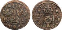 Cu 1/4 Öre 1 1634 Schweden Christina 1632-1654. schön - sehr schön  30,00 EUR  zzgl. 3,50 EUR Versand