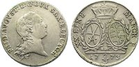 2/3 Taler 1773 Sachsen-Albertinische Linie Friedrich August III. 1763-1... 60,00 EUR  zzgl. 3,50 EUR Versand