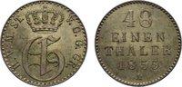1/48 Taler 1855  A Mecklenburg-Strelitz Georg 1816-1860. fast vorzüglich  15,00 EUR  zzgl. 1,00 EUR Versand