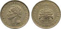 1/6 Taler 1861  B Sachsen-Albertinische Linie Johann 1854-1873. fast vo... 30,00 EUR  zzgl. 3,50 EUR Versand