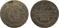 1/24 Taler 1764 Sachsen-Albertinische Linie Friedrich August III. 1763-... 15,00 EUR  zzgl. 1,00 EUR Versand