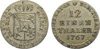1/12 Taler 1767 Sachsen-Albertinische Linie Xaver 1763-1768. sehr schön  70,00 EUR  zzgl. 3,50 EUR Versand