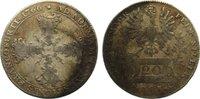 20 Kreuzer 1766 Frankfurt, Stadt  fast sehr schön  35,00 EUR  zzgl. 3,50 EUR Versand