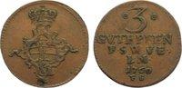 Cu 3 Gute Pfennig 1760  FS Sachsen-Weimar-Eisenach Anna Amalia 1758-177... 20,00 EUR  zzgl. 3,50 EUR Versand
