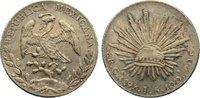 8 Reales 1875 Mexiko Zweite Republik seit 1867. zwei Chopmarks, vorzügl... 110,00 EUR  zzgl. 3,50 EUR Versand