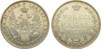 Rubel 1851 Russland Nikolaus I. 1825-1855. Revers leicht bearbeitet, se... 185,00 EUR  zzgl. 3,50 EUR Versand