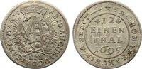 1/12 Taler 1695 Sachsen-Albertinische Linie Friedrich August I. 1694-17... 25,00 EUR  zzgl. 3,50 EUR Versand