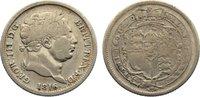 Shilling 1816 Großbritannien George III. 1760-1820. kl. Kratzer, fast s... 25,00 EUR  zzgl. 3,50 EUR Versand