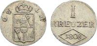 Kreuzer 1808 Würzburg, Großherzogtum Ferdinand von Österreich 1806-1814... 35,00 EUR  zzgl. 3,50 EUR Versand