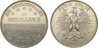Taler 1859 Frankfurt, Stadt  zaponiert, sehr schön +  70,00 EUR  zzgl. 3,50 EUR Versand