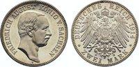 2 Mark 1914  E Sachsen Friedrich August III. 1904-1918. winzige Kratzer... 525,00 EUR kostenloser Versand