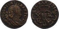Cu Schilling 1754  H Sachsen-Albertinische Linie Friedrich August II. 1... 20,00 EUR  zzgl. 3,50 EUR Versand