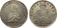 1/3 Taler (1/4 Konventionstaler) 1763  FS Sachsen-Weimar-Eisenach Anna ... 295,00 EUR  zzgl. 3,50 EUR Versand