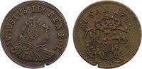 Cu Groschen 1754 Sachsen-Albertinische Linie Friedrich August II. 1733-... 75,00 EUR  zzgl. 3,50 EUR Versand