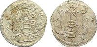 3 Pfennig 1695 Sachsen-Albertinische Linie Friedrich August I. 1694-173... 60,00 EUR  zzgl. 3,50 EUR Versand