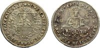 1/6 Taler 1761 Münster, Bistum Sedisvakanz 1761. sehr schön  100,00 EUR  zzgl. 3,50 EUR Versand