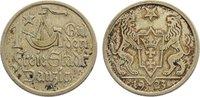 1 Gulden 1923 Danzig  kl. Randfehler, sehr schön +  35,00 EUR  zzgl. 3,50 EUR Versand