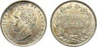 100 Reis 1889 Portugal Luis I. 1861-1889. kl. Kratzer, vorzüglich  35,00 EUR  zzgl. 3,50 EUR Versand