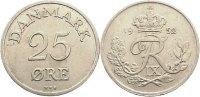 25 Öre 1 1952  NS Dänemark Frederik IX. 1947-1972. sehr schön +  15,00 EUR  zzgl. 1,00 EUR Versand