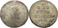 8 Gute Groschen 1758  B Anhalt-Bernburg Victor Friedrich 1721-1765. Rev... 75,00 EUR  +  4,50 EUR shipping