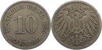 10 Pfennig 1899  J Kleinmünzen  fast sehr schön  5,00 EUR