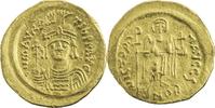 Byzantinisches Reich Solidus 582-602 n.Chr. ss+ Mauritius Tiberius / kür... 382,50 EUR kostenloser Versand