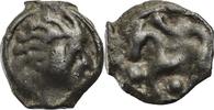 Gallien Kelten Senones Potin 1. Jhd.v.Chr ss Kopf mit Büschelhaar  Pferd 40,00 EUR  zzgl. 6,00 EUR Versand