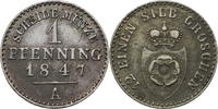 1 Pfennig 1847 A Lippe-Detmold Paul Alexander Leopold 1802-1851 vz  15,00 EUR  zzgl. 5,00 EUR Versand