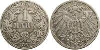 1 Mark 1892 Deutschland - Kaiserreich (A) (Berlin) s  10,00 EUR  plus 7,00 EUR verzending