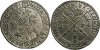 Zinnabschlag vom Reichstaler 1624 Hessen Landgraf Moritz (1592-1627) / ... 120,00 EUR kostenloser Versand