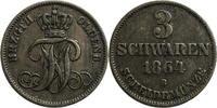 3 Schwaren 1864 Oldenburg Nikolaus Friedrich Peter II von Oldenburg (18... 15,00 EUR  zzgl. 5,00 EUR Versand