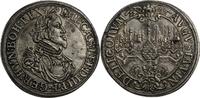 Reichstaler 1639 Augsburg mit Titel Ferdinands III., Brustbild / Stadta... 460,00 EUR kostenloser Versand