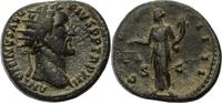 Römisches Kaiserreich Dupondius Antoninus Pius / Aequitas / Dupondius