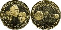 Goldmedaille 1969 Deutschland Apollo 11 - Die erste Mondlandung PP-  400,00 EUR  plus 7,00 EUR verzending