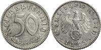 50 Reichspfennige 1943 Deutschland - 3. Reich J (Hamburg) ss-vz  5,00 EUR  plus 7,00 EUR verzending