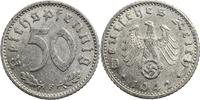 50 Reichspfennige 1942 Deutschland - 3. Reich F (Stuttgart) ss-vz  5,00 EUR  plus 7,00 EUR verzending