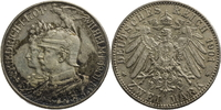 2 Mark 1901 Deutschland - Kaiserreich zum 200jährigen Bestehen des Köni... 13,00 EUR  zzgl. 5,00 EUR Versand