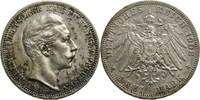 3 Mark 1908 Deutschland - Kaiserreich Wilhelm II. Vz  10,00 EUR  zzgl. 5,00 EUR Versand