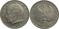 2 DM 1965 Deutschland - Bundesrepublik G (Karlsruhe) ss  3,60 EUR  zzgl. 5,00 EUR Versand