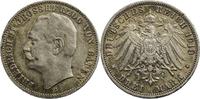 3 Mark 1910 Kaiserreich / Deutschland G (Karlsruhe) ss, l.Rf.  18,00 EUR  zzgl. 5,00 EUR Versand