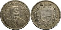 5 Franken 1931 Schweiz 5 Franken 1933 B - SS ss  9,00 EUR  zzgl. 5,00 EUR Versand