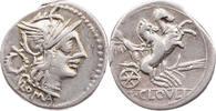 AR-Denar 128 v.Chr. Römische Republik T. Cloelius / Rom / Kopf der Roma... 140,00 EUR kostenloser Versand