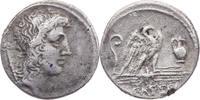 AR-Denar 55. v.Chr. Römische Republik Cassius Longinus / Kopf des Geniu... 150,00 EUR kostenloser Versand