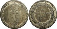20 Kreuzer 1809 Nassau Friedrich August und Friedrich Wilhelm (1808-181... 100,00 EUR kostenloser Versand