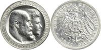 Drei Mark 1911 Württemberg Wilhelm II. u. Charlotte von Württemberg / a... 45,00 EUR  zzgl. 5,00 EUR Versand