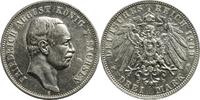 Drei Mark 1909 Kaiserreich Sachsen Friedrich August / 3 Mark / 1909 F /... 30,00 EUR  zzgl. 5,00 EUR Versand