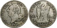 30 Sols 1792 Frankreich Münzen der französischen Revolution / Jahr 4 / ... 40,00 EUR  zzgl. 5,00 EUR Versand